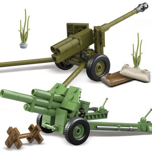 Image 4 - Oenux WW2 The Battle Of Moscow Military Scenes Small Building Block Mini Soviet Russian Army Soldier Figure Brick Block Kids Toy