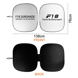 Image 5 - אביזרים לרכב עבור F10 F20 F30 F31 F11 F34 F01 F12 F18 F32 רכב שמשה קדמית שמשיות שמשייה כיסוי אוטומטי אנטי UV רפלקטור