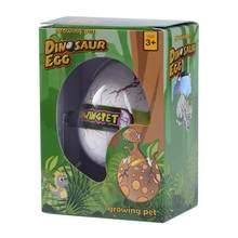 Água engraçada expansão incubação dinossauro ovo animal crianças brinquedos educativos para crianças presentes