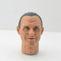 1/6 Scale Hannibal The Silence of the Lambs Anthony Hopkins Older Version Head Sculpt Headplay for 12 Action Figure Body
