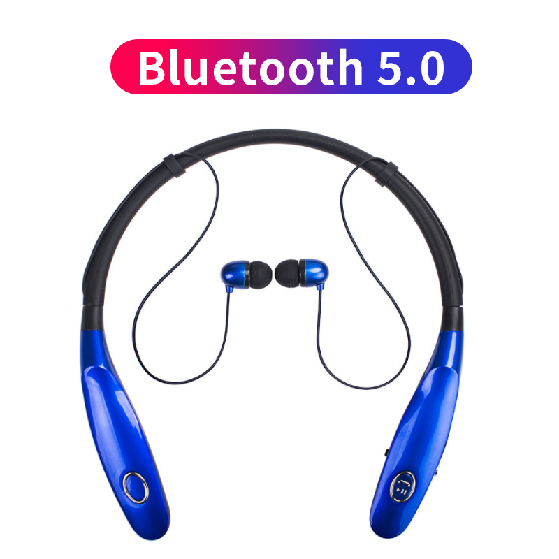 Sport Bluetooth V 5.0 Headphone Wireless Earphone Earbud Yang IPX4 Tws untuk iPhone 11 Pro XR X Max 6 7 8 X Versi Upgrade