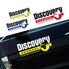Noizzy Discovery Channel 60cm Car Sticker Auto Decal Vinyl Reflective Door Wild Tuning for Jeep Wrangler Renegade SUV Cherokee noizzy baby in car caution safty drive vip style car sticker vinyl auto decal reflective black white window tuning car styling