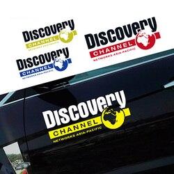 Noizzy Discovery kanał 60cm naklejki samochodowe Auto naklejka Vinyl odblaskowe drzwi dzikie Tuning dla Jeep Wrangler Renegade SUV Cherokee