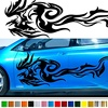 2pcs Car Stickers Motorhome Stripes Sport Styling Camper Van Graphics Vinyl Decals for Any Car Crafter Car Accessories