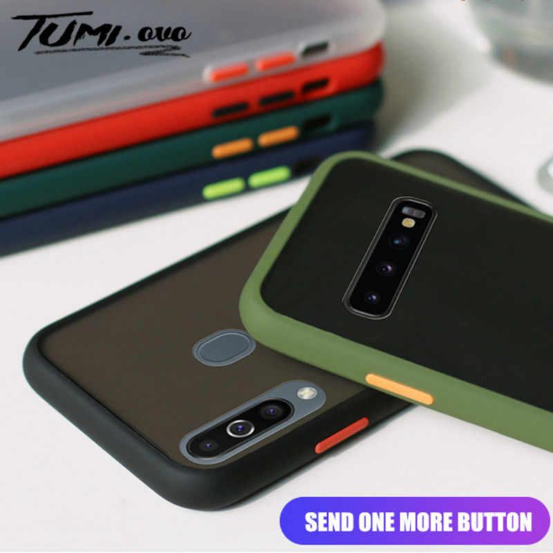 Phone Case For Samsung Galaxy A10 A10S A20 A30 A40 A50 A60 A70 Matte Hard PC Cases for Samsung Galaxy S10 S9 S8 Plus Note 10 Pro