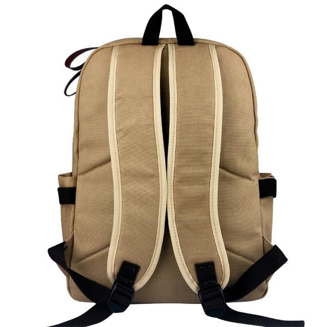 Anime JOJO JoJo's Bizarre Adventure Cosplay Computer Backpack Canvas Shoulder Bag School Backpack Ttaveling Backpack Women Male 4
