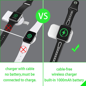 Image 3 - 【Upgraded】For Apple Watch Wireless Charger, Portable Magnetic iWatch Charger for Travel Outdoor, for Apple Watch Series 12345