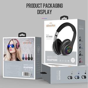 Image 5 - 1000 7000mah ワイヤレス Bluetooth ヘッドフォンポータブル軽く折りたたみの Bluetooth 5.0 ステレオヘッドセットマイクのサポート Tf カード FM ラジオ