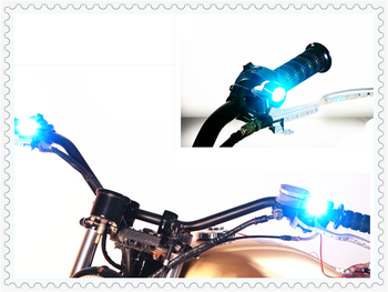 2pcs motorcycle accessories LED Daytime running lights Reverse lamp for BMW ADVENTURE R1200R K1600 GT GTL R1200GS R1200GS image