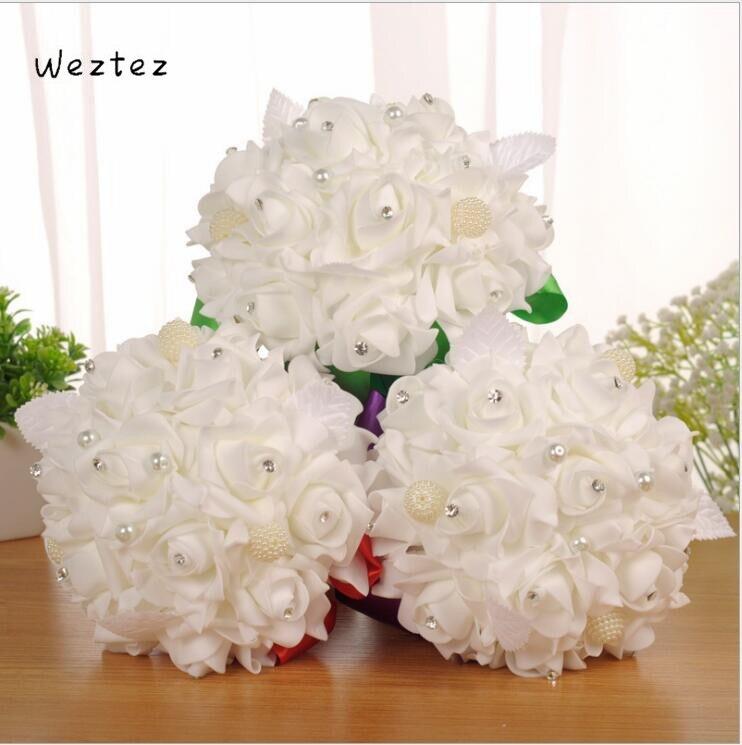 Bridal Bouquets Wedding Bouquet Wedding Flowers Bridal Bouquet Artificial Bridal Bouquet Supplies SPH163