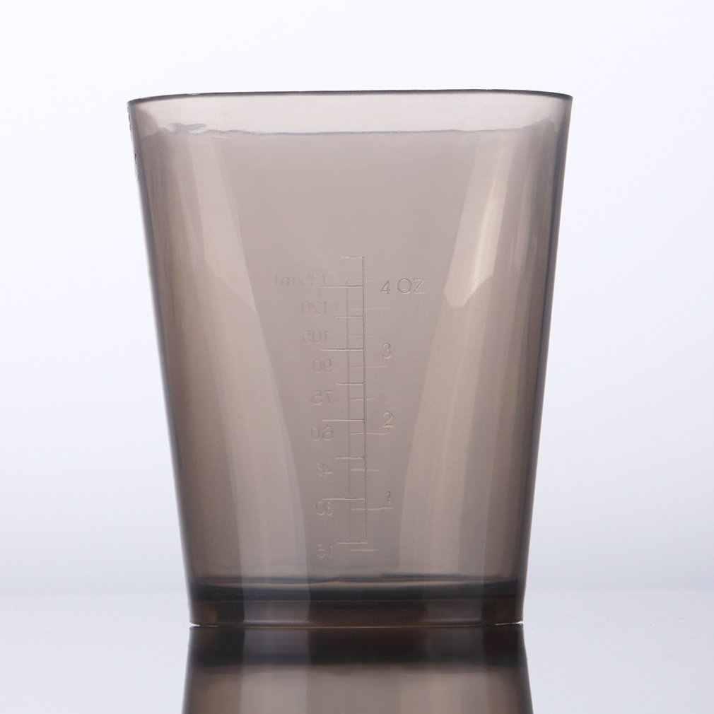 Plástico multifuncional corante de cabelo copo de medição de água cabeleireiro copo de medição de tingimento medicina tigela
