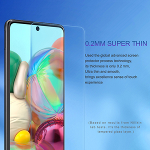 Image 4 - Samsung Galaxy A71 cam Nillkin İnanılmaz H/H + PRO ekran koruyucu temperli cam Samsung Galaxy A51 a71