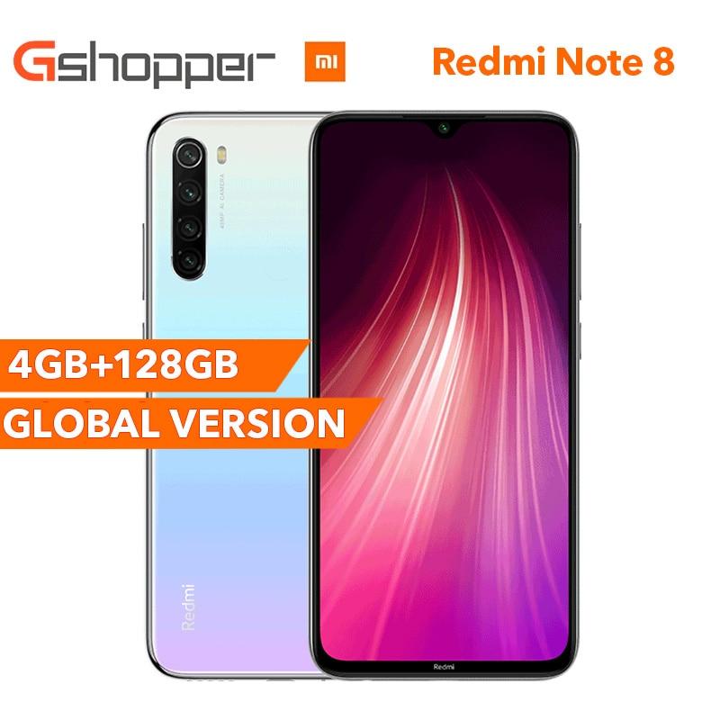 Ursprüngliche Globale Version Redmi Hinweis 8 4GB 128GB Octa Core Smartphone Snapdragon 665 48MP 6.3