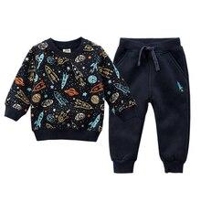 İlkbahar sonbahar bebek kazak erkek kış giysileri spor elbise çocuk giyim çocuk kazak polar bebek takım elbise kız giysileri marka bebek