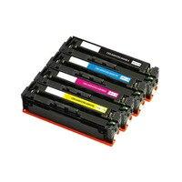 4PK Canon 045 045H CRG 045H Compatible Color Toner Cartridge for imageCLASS LBP612Cdw MF634Cdw/632Cdw MF632/634 Laser Printer