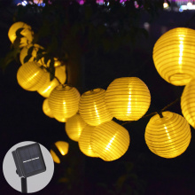 Solar Lamp For Garden Decoration Wedding Garland Solar String Lights Lantern LED Solar Garden Light Party Holiday Fairy Lights