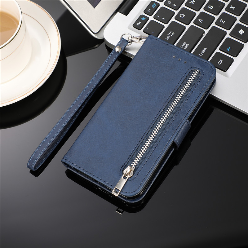 H41d10adff40f4adcb36c8e6879dc11bde Leather Zipper 8plus Flip Wallet Case For iPhone 11 Pro X XS MAX XR 6 6s 7 8 Plus Card Holder Stand Phone Cover Coque Etui Mujer