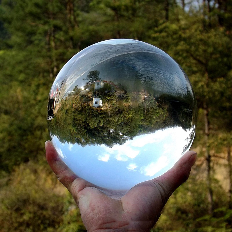 100mm Clear Glass Crystal Ball Lensball Artificial Crystal Healing Sphere Photography Props Gifts Hot Sale Gift Decorative Balls