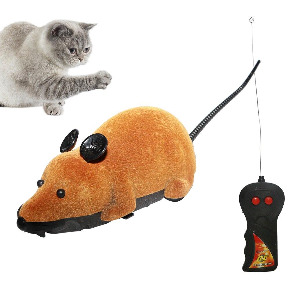 Игрушки для кошек, интерактивные игрушки для мыши, беспроводные игрушки для котов с дистанционным управлением, ложная мышь, новинка, забавные игрушки для кошек