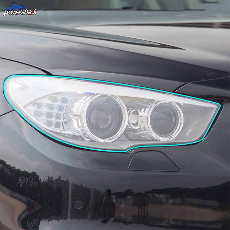 Đèn Pha Ô Tô Tint Đen Màng Bảo Vệ Bảo Vệ Trong Suốt TPU Miếng Dán Cho Xe BMW Series 5 F10 F11 G30 G31 F07 GT phụ Kiện