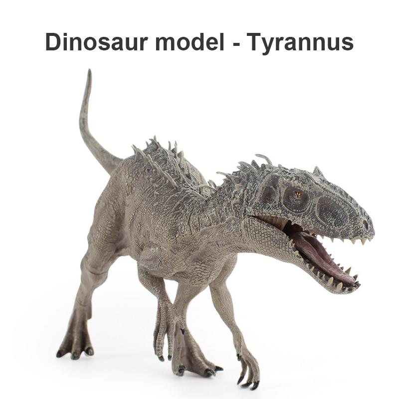 Nouveauté dinosaure modèle jouet nouveau grand solide tyrannosaure Rex modèle statique dinosaure fait à la main jouets pour enfants cadeau de noël