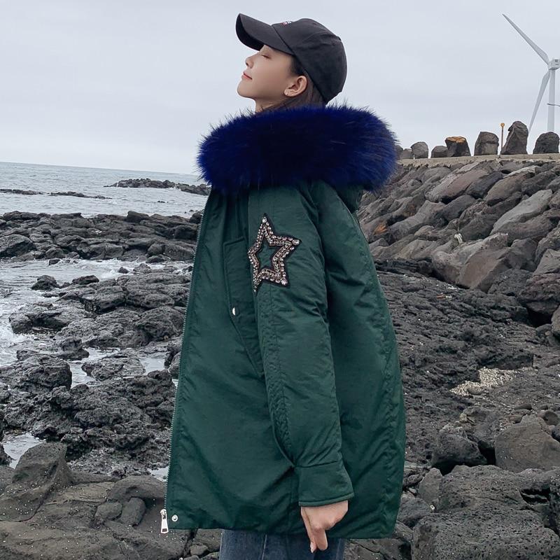 New Arrival 2019 Winter Jacket Women Cotton Padded Outwear Female Coat_B1_12
