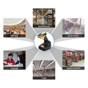 Image 5 - ScanHome Wireless Barcode Scanner 2D QR PDF417 CMOS 433MHz Handheld BarCorde Scanner SH 4120