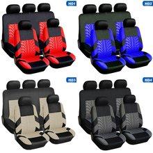 Housses de siège universelles pour la plupart des voitures, ensemble de housses de protection pour sièges de voiture, avec des détails de suivi des pneus, quatre saisons