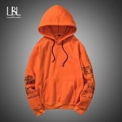 Mens Hoodies Print Sweatshirts Autumn New Casual Men Fleece Hoody Winter Fashion Hip Hop Suprem Hoodies Male Cardigan Tracksuits