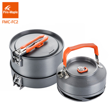 Free Shipping 1-2 Person Cooking Pot Set Camping Pots Sets Feast1