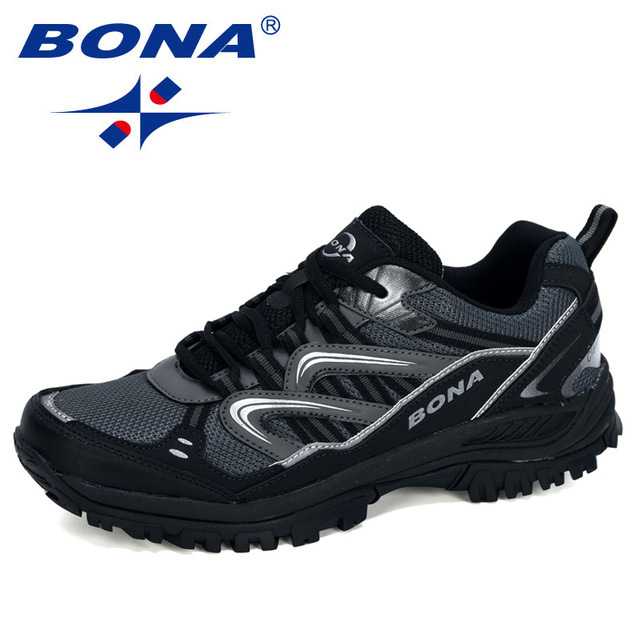BONA 2020 New Designers Popular Sneakers Hiking Shoes Men Outdoor Trekking Shoes Man Tourism Camping Sports Hunting Shoes Trendy 5