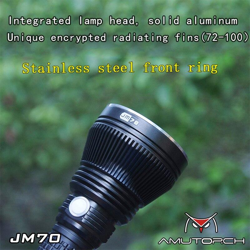 Улыбающаяся Акула фонарик для дайвинга подводный профессиональный светодиодный фонарик для дайвинга мощный шуй Лу два фонарика для дайвин... - 2
