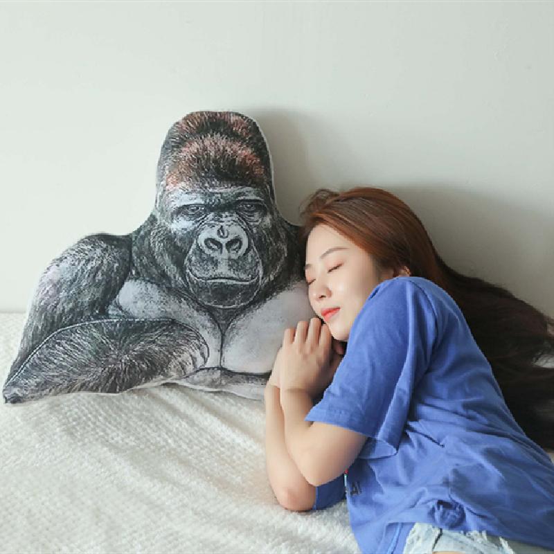 The gorilla plush pillow Sleeping Multi functional Pillows Bedding stuffed animals Sleeping Pillow Cushion Christmas gifts