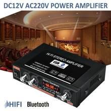 G30 800w mini amplificador de potência áudio digital bluetooth de alta fidelidade controle remoto sem bateria ue/eua plug para tf cartão/aux/u disco/mp3