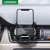 UGREEN-Soporte de teléfono para el coche, Clip de ventilación para iPhone 12 y Samsung, con GPS