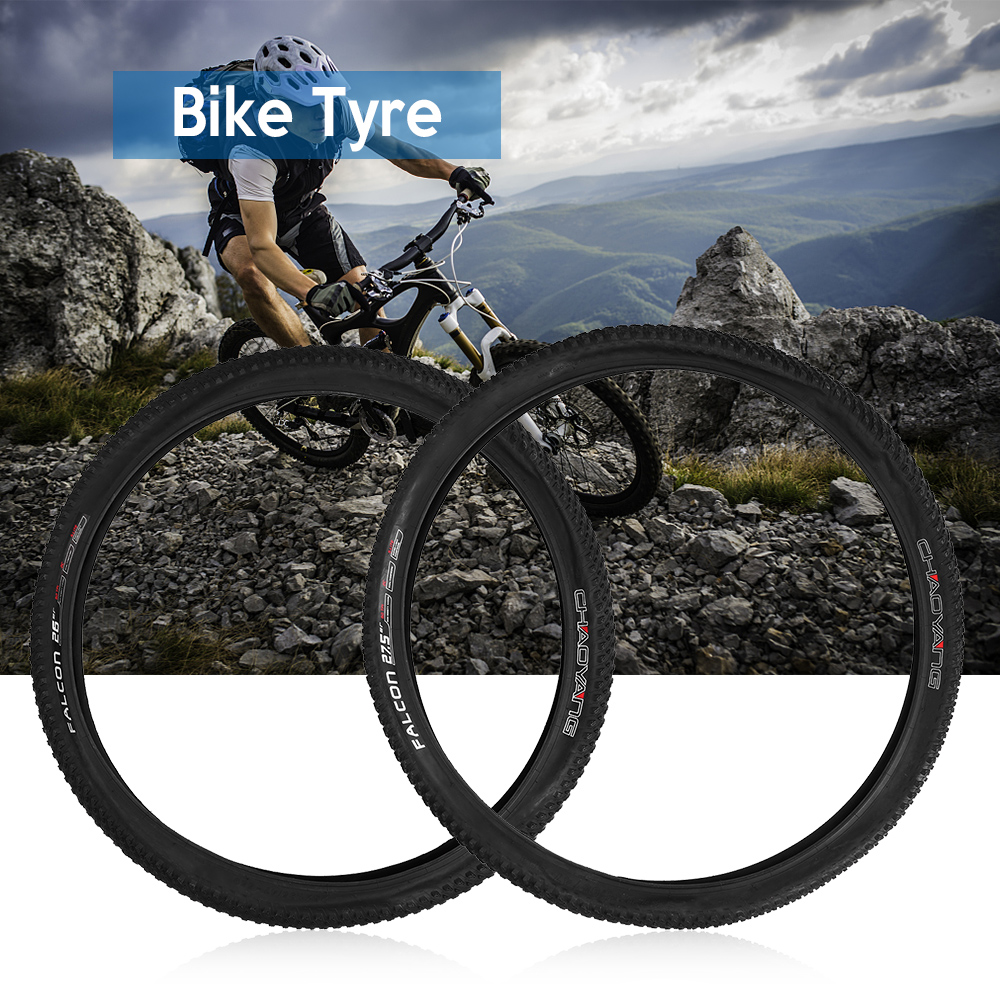 2019 New 26*1.95 / 27.5*1.95in Rubber Bike Bicycle Tire for MTB Mountain Bike Tyres 60TPI Rubber Outer Tires Bicycle Part Black
