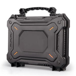 Image 2 - Tactical Gun Pistol Camera Protective Case Safety Case with Foam Padded+Safety Lock Dustproof Waterproof Hard Shell Pistol Box