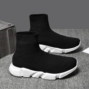 Image 3 - Baskets en maille pour homme, chaussures pour Couple mocassins respirantes, confortables, 35 à 47, collection décontracté chaussures pour hommes