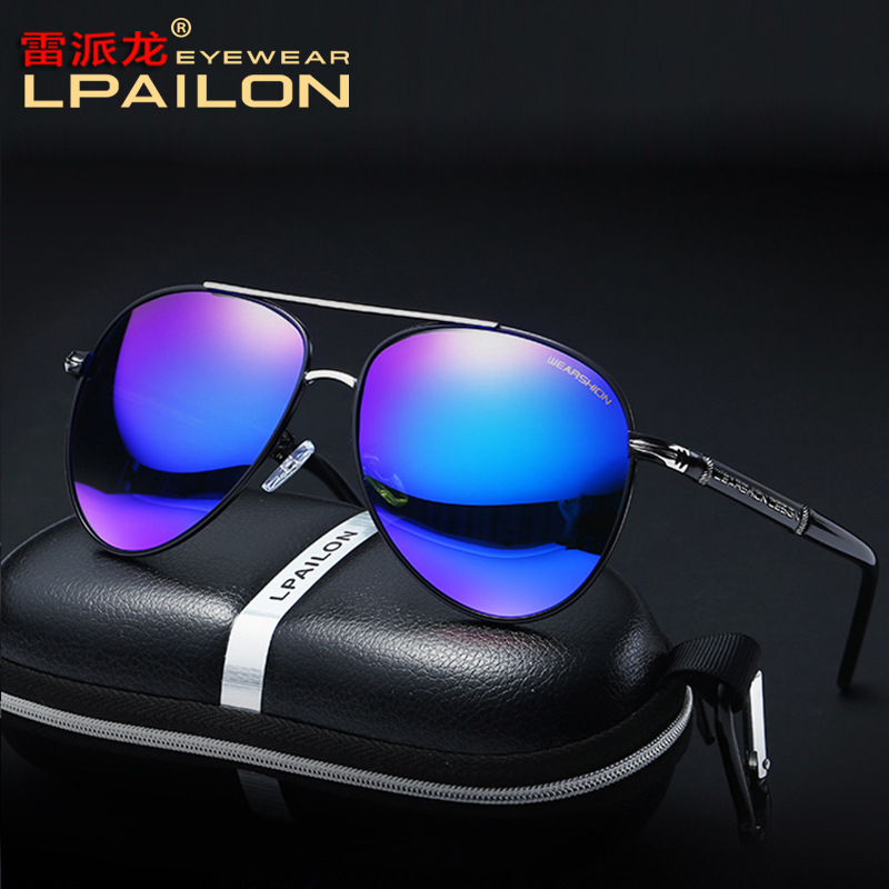 New Sunglasses Polarized Colorful Fashion Men Toad-Mirror Sun-Driving Factory-Direct-Supply