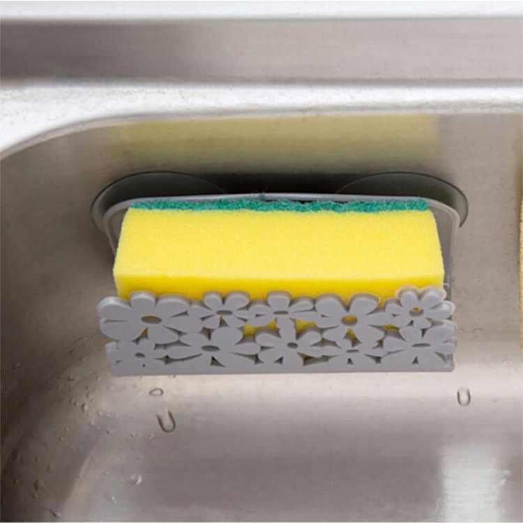 Neue Küche Bad Trocknen Rack Wc, Waschbecken Saug Schwämme Halter Rack Saugnapf Gericht Tücher Halter Wäscher Seife Lagerung