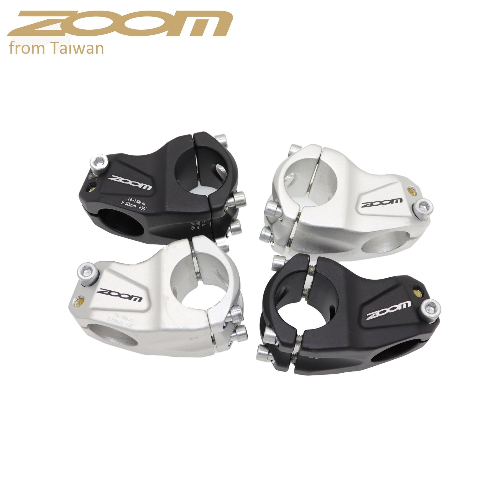 Zoom bike stem MTB downhill 30 degree cross country DH FR XC BMX mountain bike bicycle 31.8 50MM short for AM handlebar