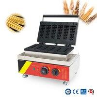 110 v/220 v comercial peixe escala bolo máquina de bolo pinho máquina scones waffle aço inoxidável 201 NP-503 casa waffle maker