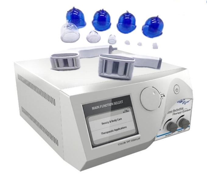 Portable Vacuum Breast Enlargement Machine With Vacuum Roller And Vacuum Cups