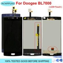 Doogee BL7000 LCD 디스플레이 및 터치 스크린 어셈블리 수리 부품 Doogee BL7000 + 무료 도구 용 5.5 인치 교체