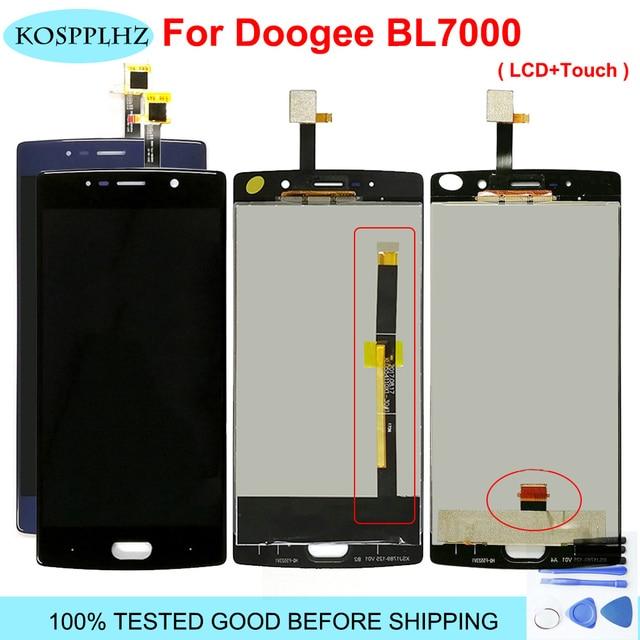 Doogee BL7000 lcdディスプレイとタッチ画面アセンブリ補修部品doogee BL7000 5.5 インチの交換 + 無料ツール