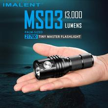 Rechargeable Flashlight Led-Torch Imalent Ms03 21700 Lumens Cree Xhp70.2 Battery Waterproof
