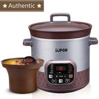 5l elétrica inteligente fogão lento panela de arroz fogão elétrico ensopado sopa mingau saúde mini temporizador controle comida para bebê vapor
