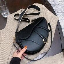 Sacoches en cuir Pu pour femmes, sacs à main et bourses de marque célèbre, sac de styliste de luxe à bandoulière, sac de selle pour dames, 2021