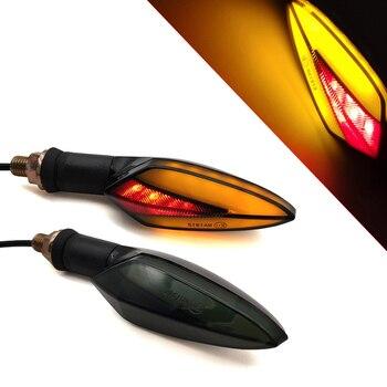 LED Motorrad Blinker Licht Schwanz Lichter Motor Zubehör Gelb Rot Lampe Für BMW C600 C650 Sport C650GT C400GT S1000RR