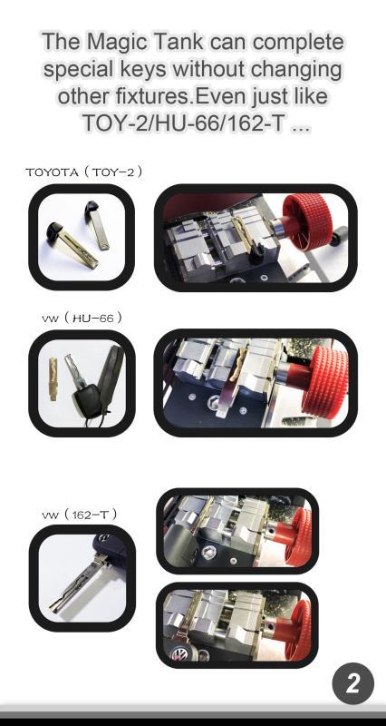 Suprimentos para chaveiro